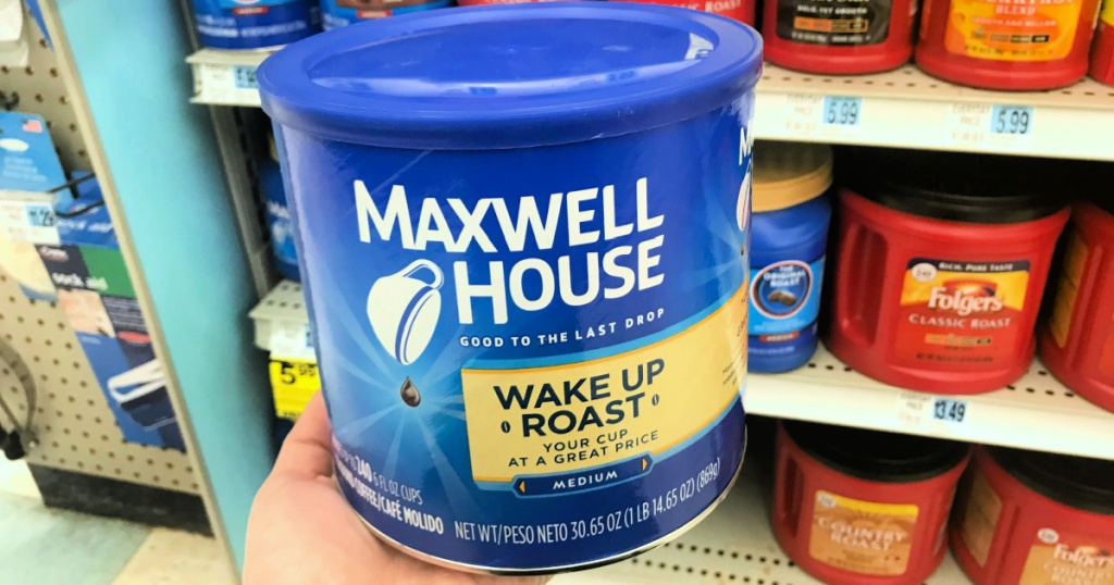 Maxwell House Wake Up Blend Mild Roast Ground Coffee 30.65oz Tin