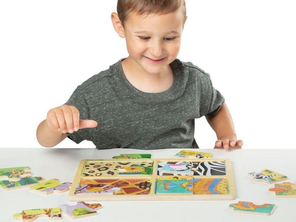 Melissa & Doug Animal Pattern Puzzle