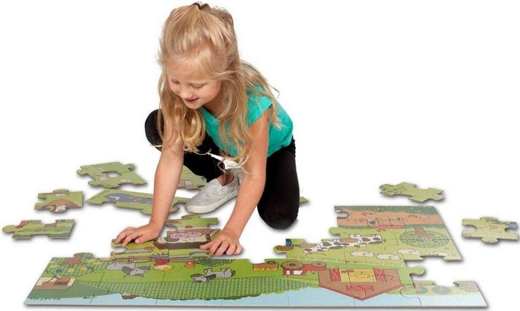 Melissa & Doug Giant Farm Floor Puzzle