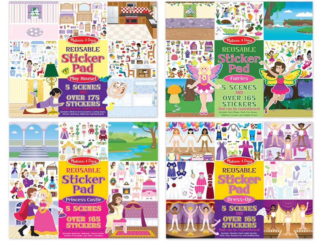Melissa & Doug Sticker Books