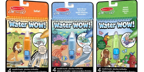 Melissa & Doug Water WOW! 3-Pack Just $10.99 on Amazon (Regularly $15) | Only $3.66 Each