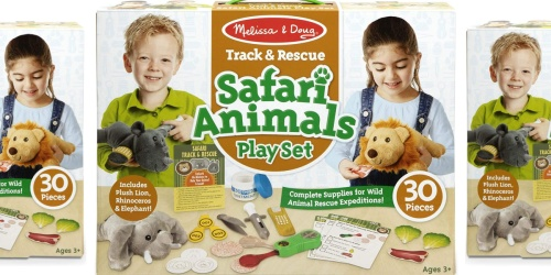 Melissa & Doug Track & Rescue Safari Animals Play Set Only $14.99 on Amazon (Regularly $30)