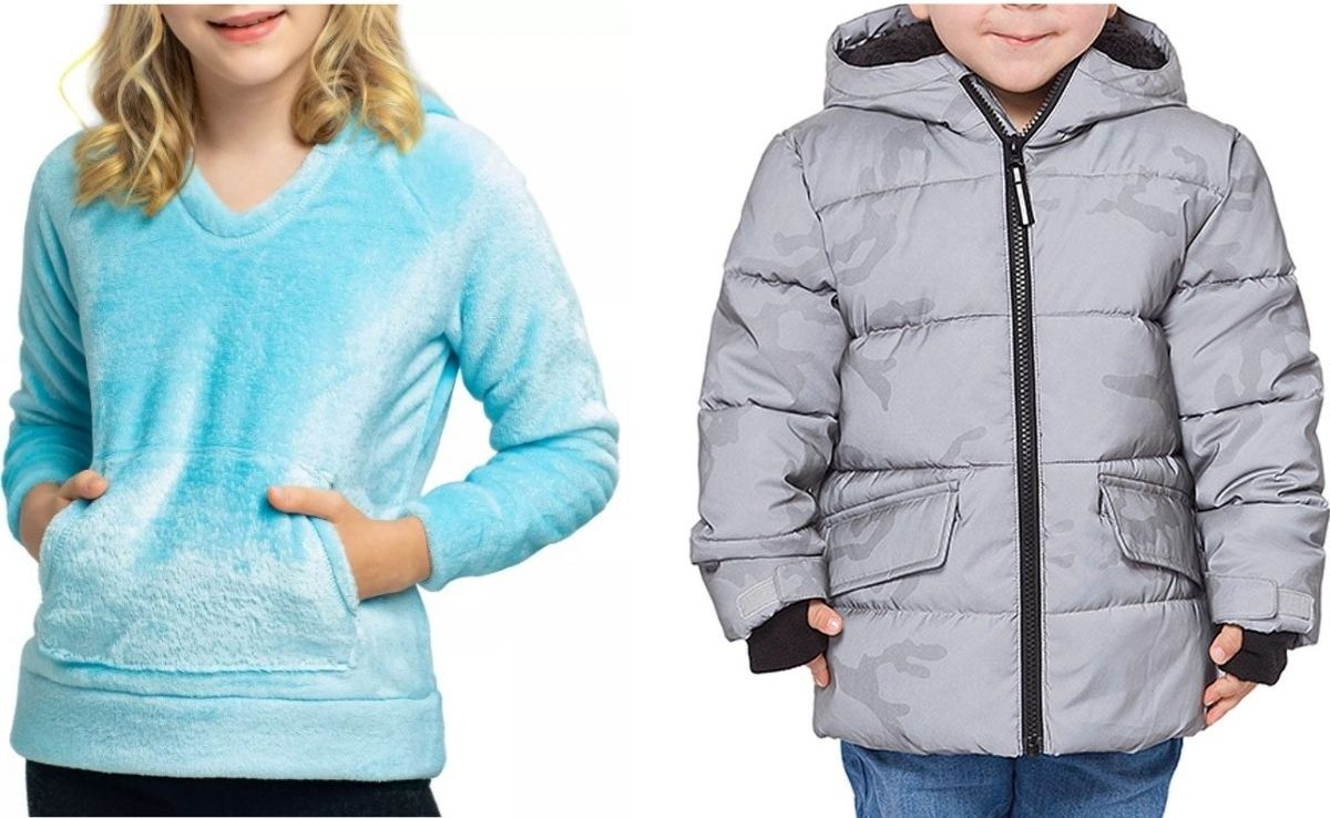 Kids wearing Members Mark Clothing and Outerwear