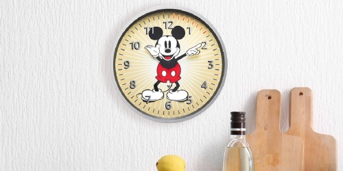 Echo Disney Wall Clock Only $34.99 Shipped on Amazon (Regularly $50)