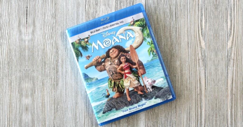 Moana Blu-Ray movie