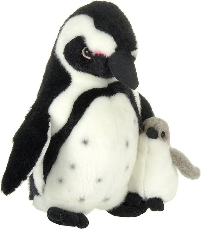 Boneka Penguin Ibu dan Bayi