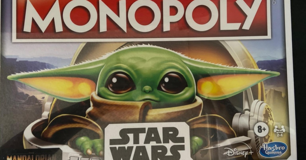 monopoly star wars the child board game