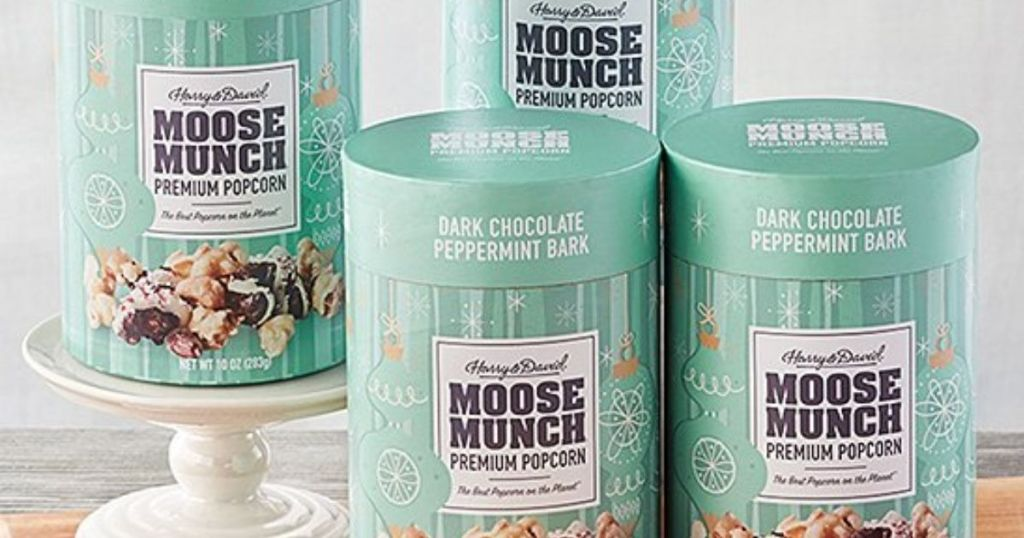 four Moose Munch Cylinders