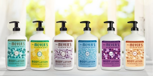 Mrs. Meyer's Body Lotion 3-Pack Only $12 on Amazon | Just $4 Per Bottle