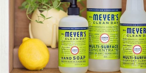 Mrs. Meyer's 12.5oz Hand Soap 3-Count Just $8.72 Shipped on Amazon (Regularly $12)