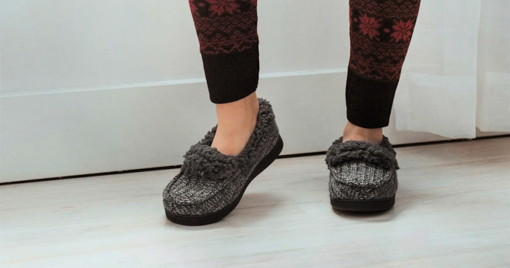 Muk Luks Anais Moccasin Slippers