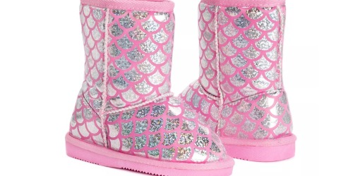 Muk Luks Toddler Mermaid Boots Only $12.99 Shipped (Regularly $44)
