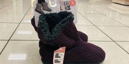 Muk Luks Women's Slippers ONLY $8.49 on Kohls.com (Regularly $40)
