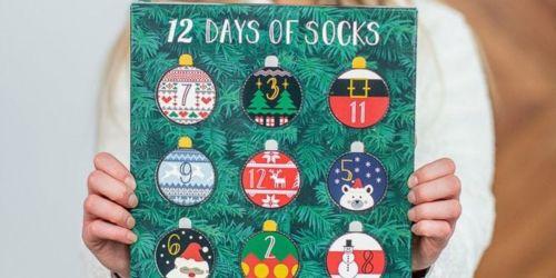 Muk Luks Women's 12 Days of Socks Advent Calendar Just $16.99 Shipped (Regularly $28)