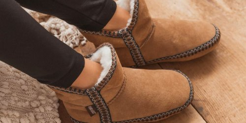 Muk Luks Women's Slipper Booties Just $14.99 Shipped | Awesome Gift Idea