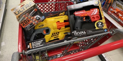 Buy 2, Get 1 Free NERF Guns & Accessories on Target