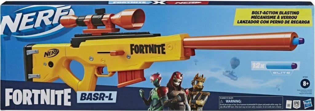 Nerf Fortnite BASR-L gun