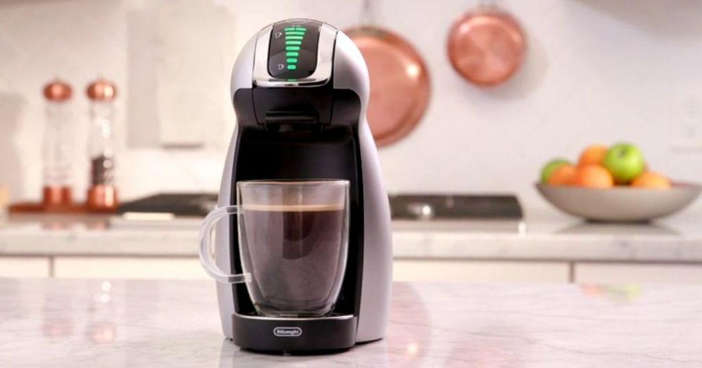 Nescafe Genio 2 on a counter