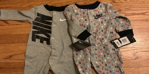 Nike Footed Sleep & Plays Only $8.99 on Kohls.com (Regularly $18)