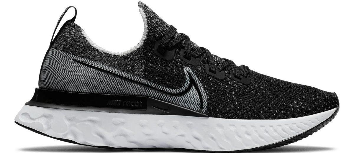 Nike React Running Shoe in black