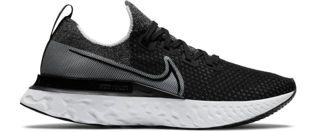 Nike React Running Shoes in Black
