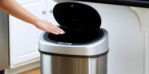 Stainless Steel Sensor Trash Can Set Only $54.98 Shipped for Sam's Club Members (Regularly $70)