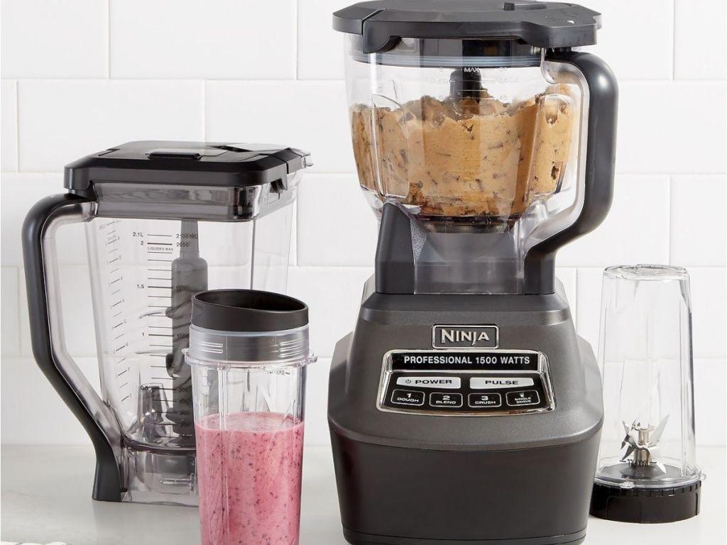 Ninja food processor and blender accessories