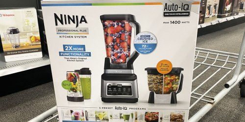 Ninja Professional Plus Kitchen System w/ Auto-iQ from $107.99 Shipped (Regularly $230) + Earn Kohl's Cash