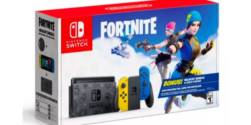 Nintendo Switch Fortnite Edition Only $299.99 Shipped on Target.com