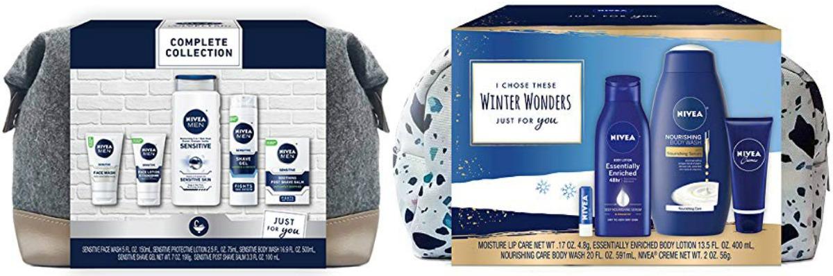 Nivea brand gifts sets