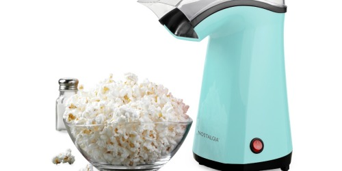 Nostalgia Air-Pop Popcorn Maker Only $9.99 on Walmart (Regularly $30) | Over 400 5-Star Reviews