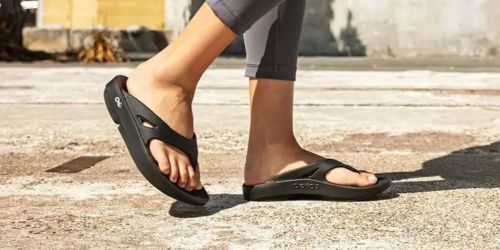 40% Off Oofos Recovery Footwear + Free Shipping