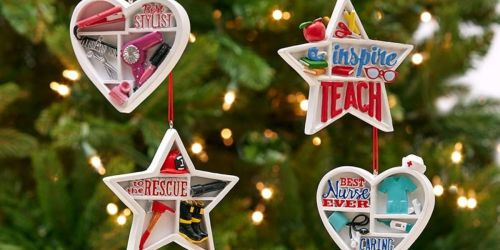 6 Occupation Ornaments Only $21.55 Shipped (Just $3.59 Each!) – Fun Gift Idea