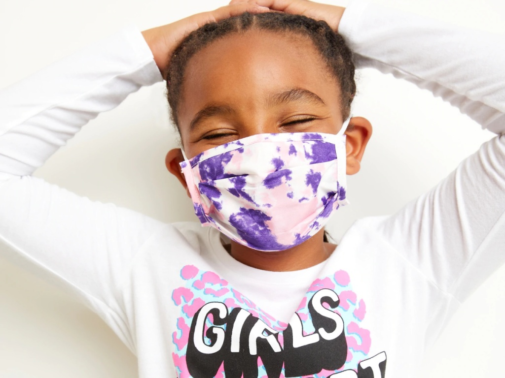 Old Navy 5-Pack of Triple-Layer Pleated Kid's Face Mask
