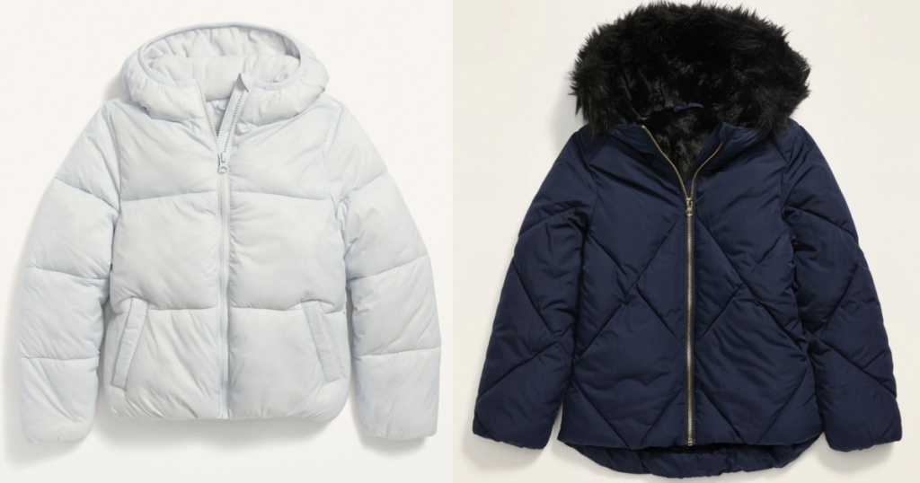2 old navy frost free jackets