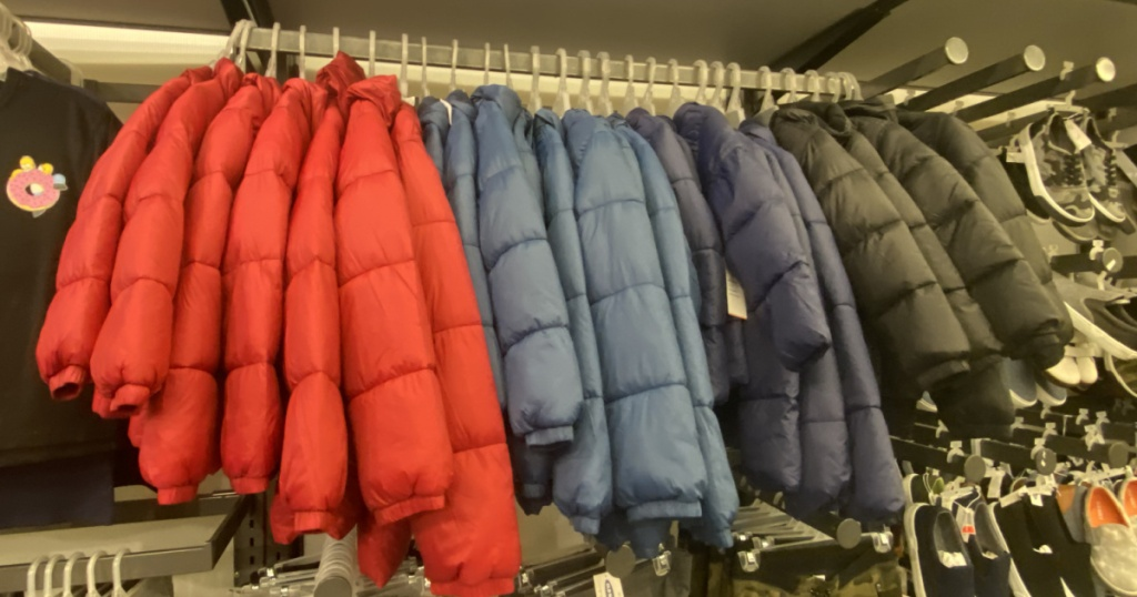 old navy frost free puffer jackets