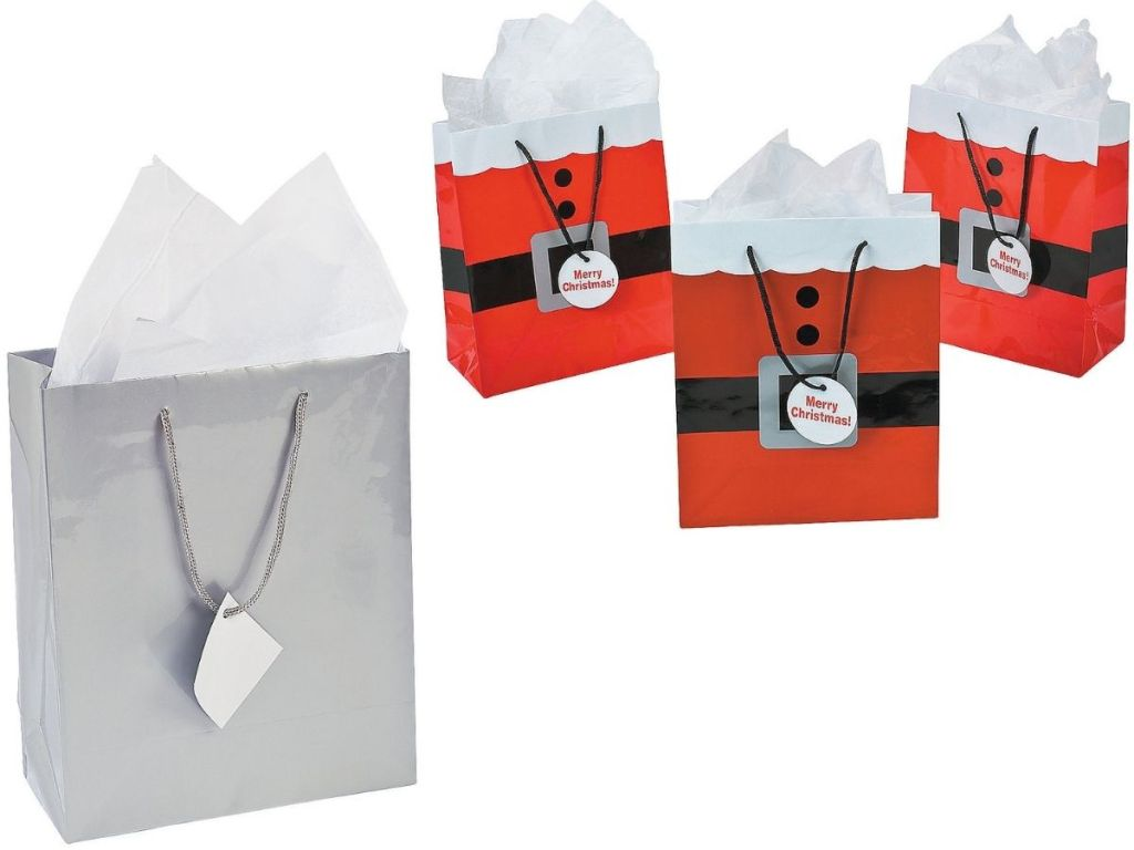 Oriental Reading Company Holiday Gift Bags