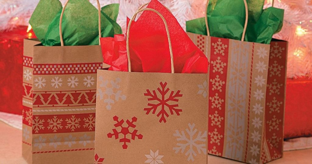 3 holiday gift bags