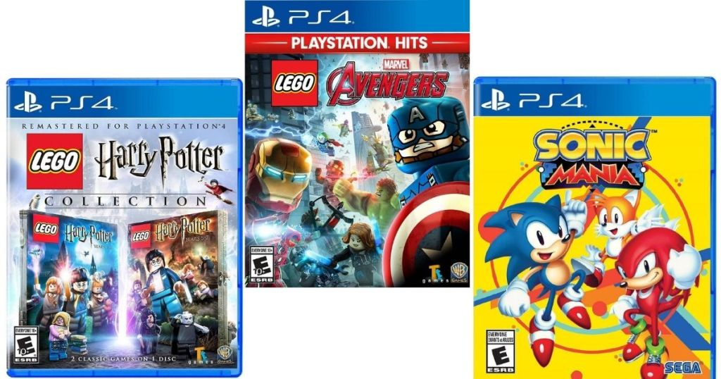 LEGO Harry Potter and Marvel Games with Sonic Mania