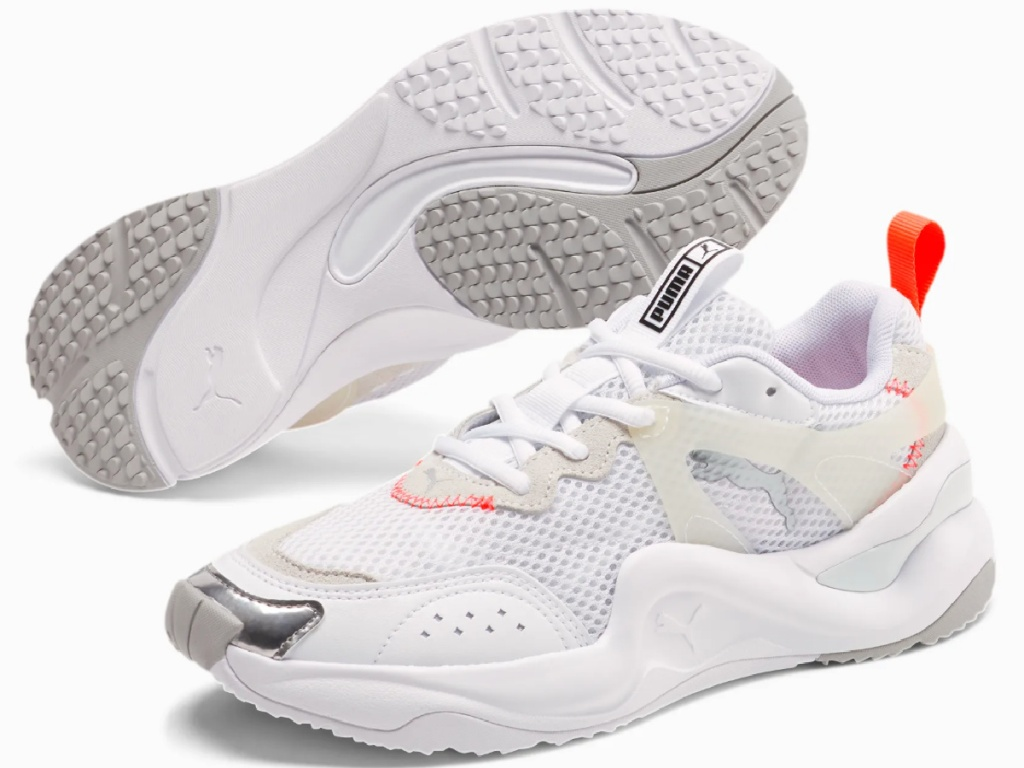 women's white puma shoes