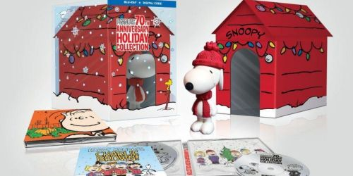 Peanuts Blu-Ray + Digital Holiday Collection w/ Snoopy Figure Only $39.99 Shipped on Amazon (Regularly $100)