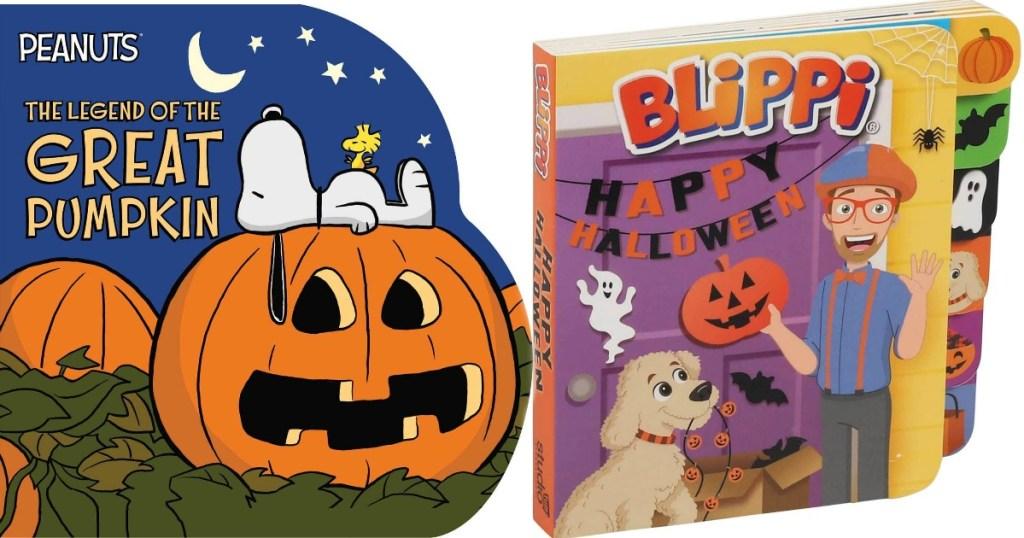 Peanuts and Blippi Board Books