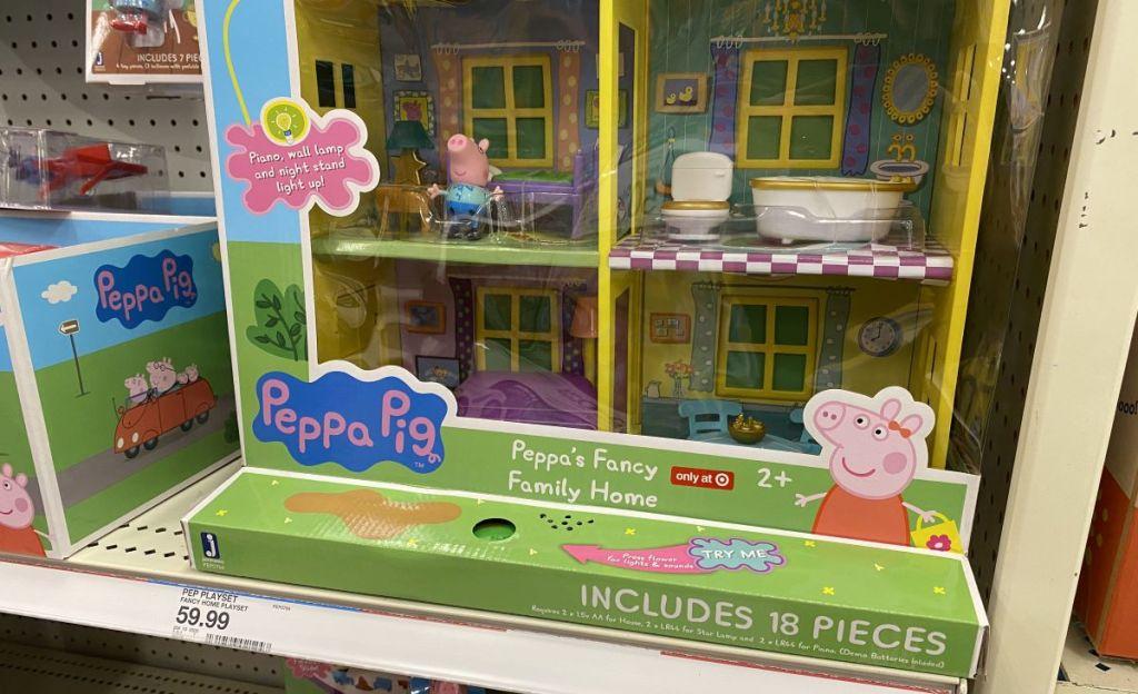 bottom part of Peppa pigs playhouse
