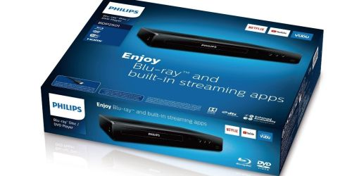 Philips Blu-Ray/DVD Player w/ Built-In Streaming Only $49 Shipped on Walmart.com (Regularly $69)