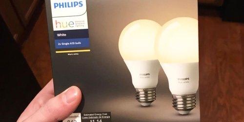Buy 1, Get 1 FREE Philips Smart Bulb 2-Packs on BestBuy.com   Adjust Lighting w/ Your Phone!
