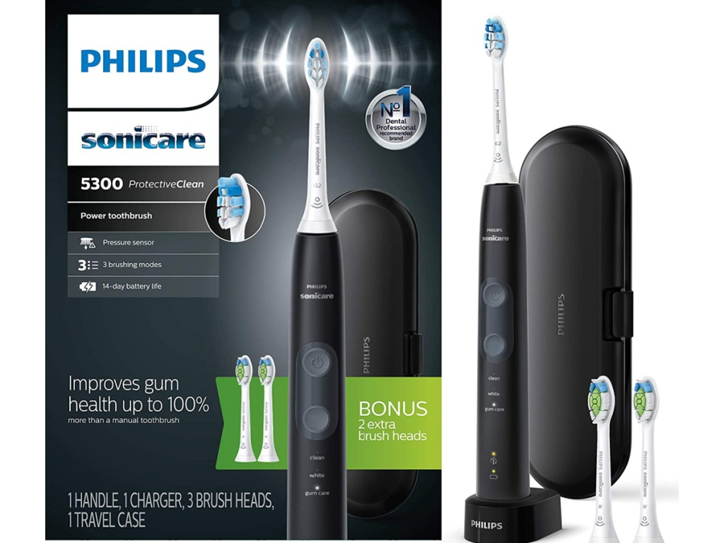 Philips Sonicare ProtectiveClean 5300 Sikat Gigi Isi Ulang