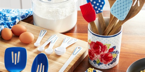 The Pioneer Woman 20-Piece Utensil & Crock Set Just $20 on Walmart.com