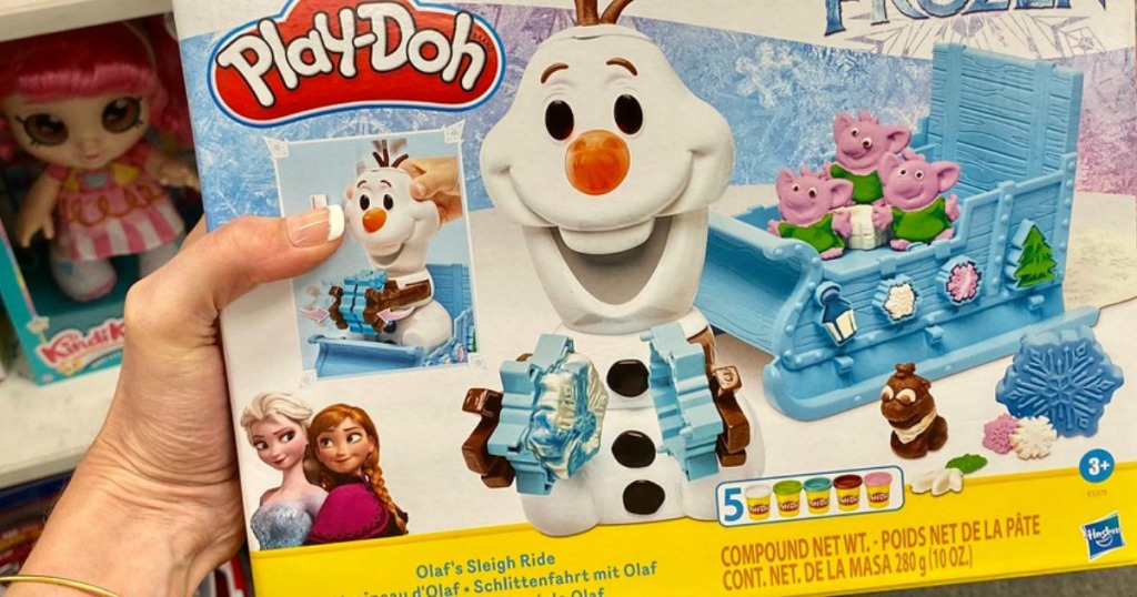 Play-Doh Featuring Disney Frozen Olaf's Sleigh Ride box