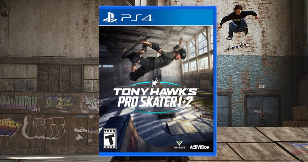 Playstation 4 and Xbox Tony Hawk Pro Skater video game