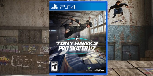 Tony Hawk's Pro Skater 1 + 2 Only $24.99 on Target.com (Regularly $40) | Xbox One or PlayStation 4